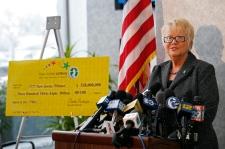 N.J. Lottery Executive Director Carole Hedinger