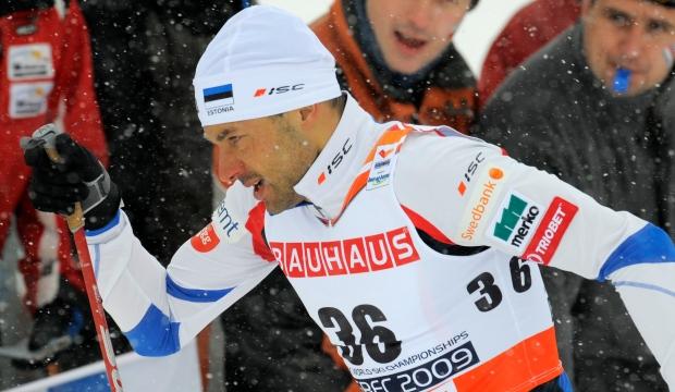 Ski champion Andrus Veerpalu