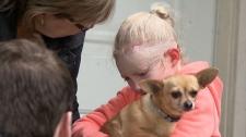 Jenna and Honey the Chihuahua