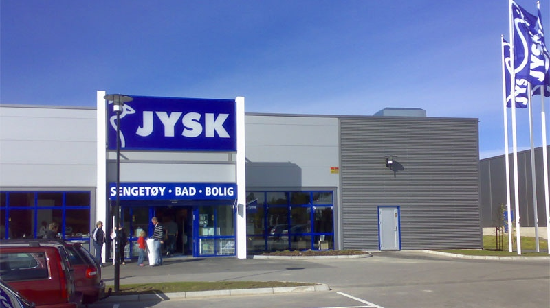 Jysk is a Danish retailing giant that boasts more than 1,700 stores in 34 countries worldwide, including outlets in such far-flung locations as Kazakhstan and Albania.