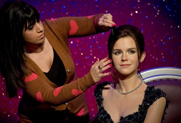 Emma Watson wax figure unveiled