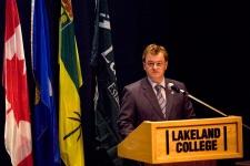 Vegreville-Wainwright MP Leon Benoit