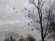 Balloons for Aja Chandler