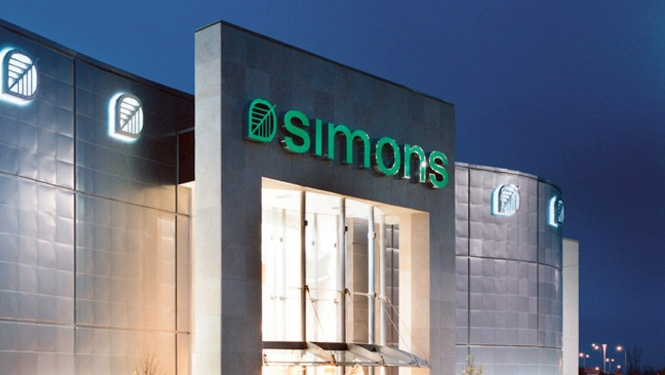"Ottawa's Rideau Centre will be welcoming Quebec-based ""Simons"" in 2015"