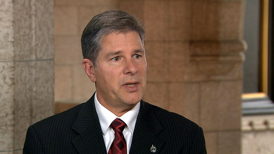 Conservative MP Mark Warawa appears on CTV's Power Play in Ottawa, Wednesday, March 27, 2013.