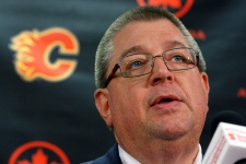 Iggry traded  Jay Feaster Jarome Iginla Flames
