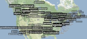 Jerome Iginla becomes a Twitter trending topic