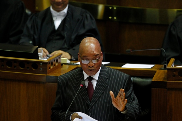 Zuma says Nelson Mandela responding to treatment