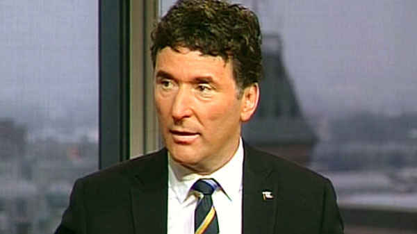 NDP foreign affairs critic Paul Dewar appears on CTV's Question Period on Sunday, February 13, 2011.