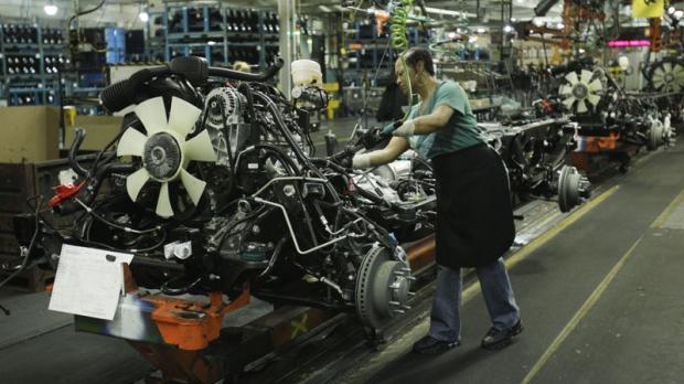 Karen Garner Works On The General Motors Silverado And Gmc