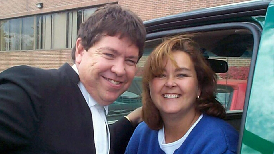 Kevin Dunsmuir, 55, and Jennifer Dunsmuir, 51, died in a house fire in East Gwillimbury, Ont. on Friday, March 29, 2013.