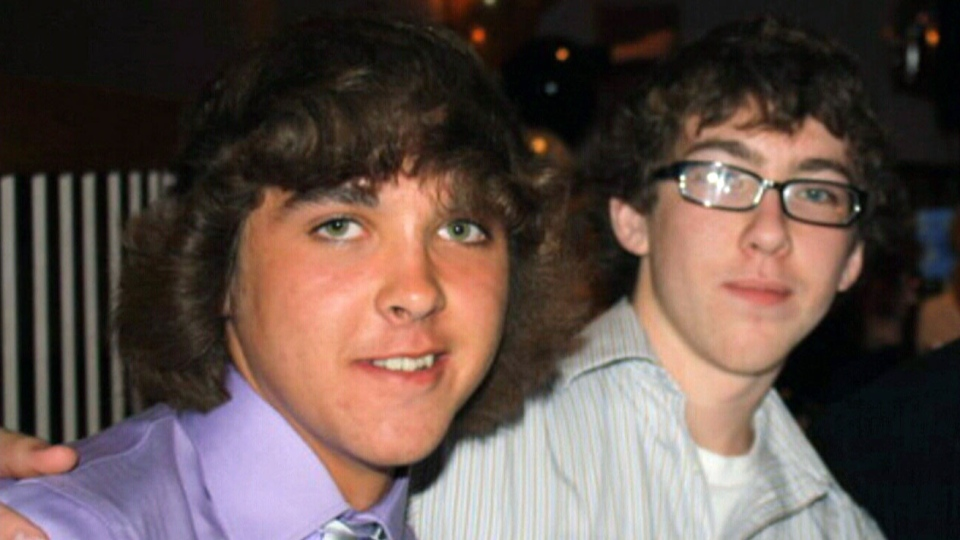 Robert Dunsmuir, 19, and Cameron Dunsmuir, 16, died in a house fire in East Gwillimbury, Ont. on Friday, March 29, 2013.