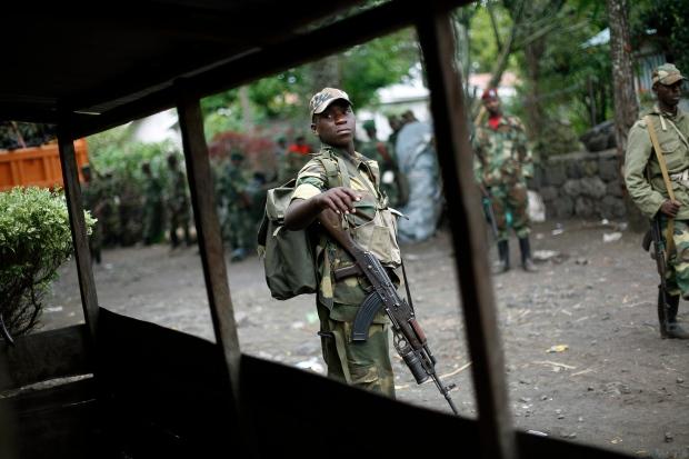 M23 rebels Congo