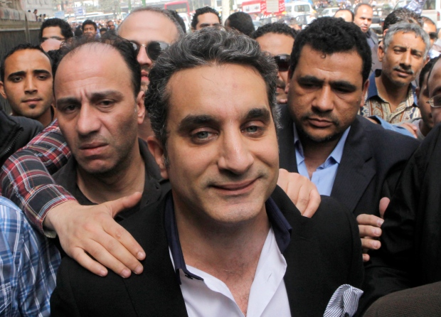 Bassem Youssef appears in court