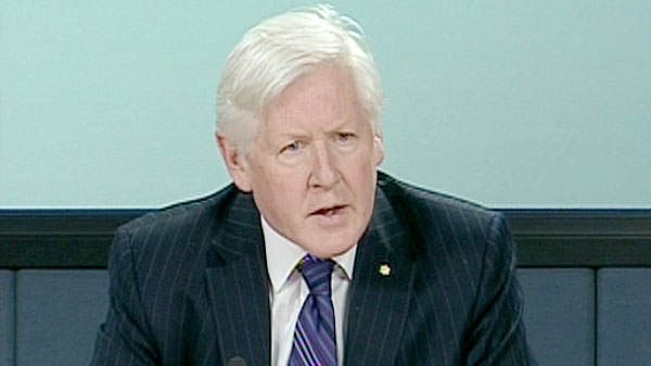 Liberal Bob Rae speaks at a press conference in Ottawa, Tuesday, Feb. 15, 2011.