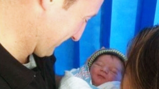 Defence Minister Peter MacKay new baby boy
