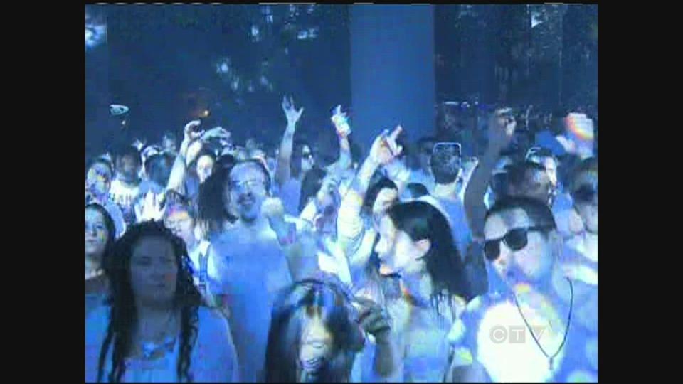 CTV Montreal: Thousands shun sleep for Bal en Blanc dance marathon