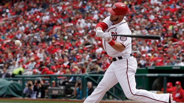 Bryce Harper hits two home runs