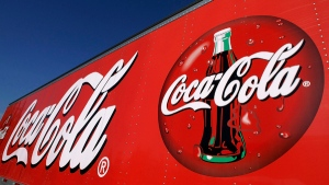 A Coca-Cola delivery truck is seen in Springfield, Ill., Wednesday, Nov. 10, 2010. (AP / Seth Perlman)