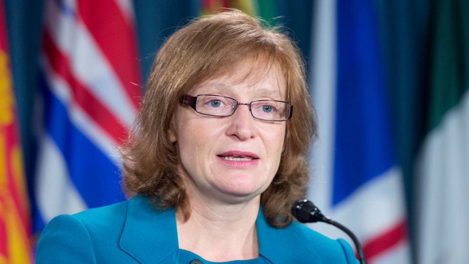 Information Commissioner of Canada Suzanne Legault responds to a question during a news conference in Ottawa, Thursday, Dec. 6, 2012. (Adrian Wyld / THE CANADIAN PRESS)