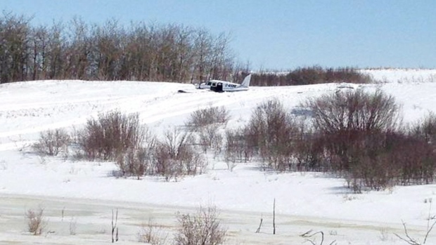 Plane crash in Kisbey, Saskatchewan