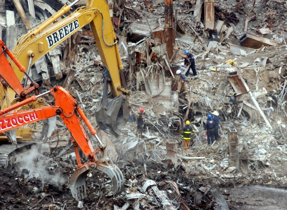 Grim search for remains of WTC Sept. 11 victims begins ...
