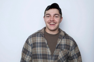 This Jan. 2, 2013 photo shows Shain Gandee, from MTV's 'Buckwild' reality series in New York. Gandee was found dead Monday, April 1, in a sport utility vehicle in a ditch along with his uncle and a third, unidentified person, authorities said. (Amy Sussman / Invision)