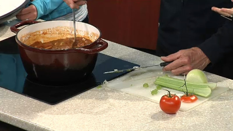 The 'Champions clean-eating chili' home cook Kevin Wiens will be entering in a chili cook-off event in support of MADD Canada.