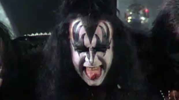 KISS, Saddledome, Stampede, Gene Simmons, Paul Sta