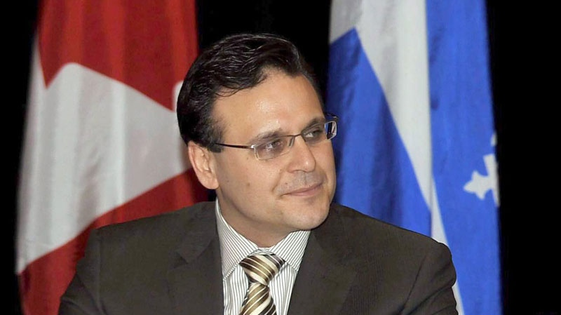 Conservative Senator Leo Housakos is shown in Montreal on Jan., 9, 2009. (THE CANADIAN PRESS/Graham Hughes)