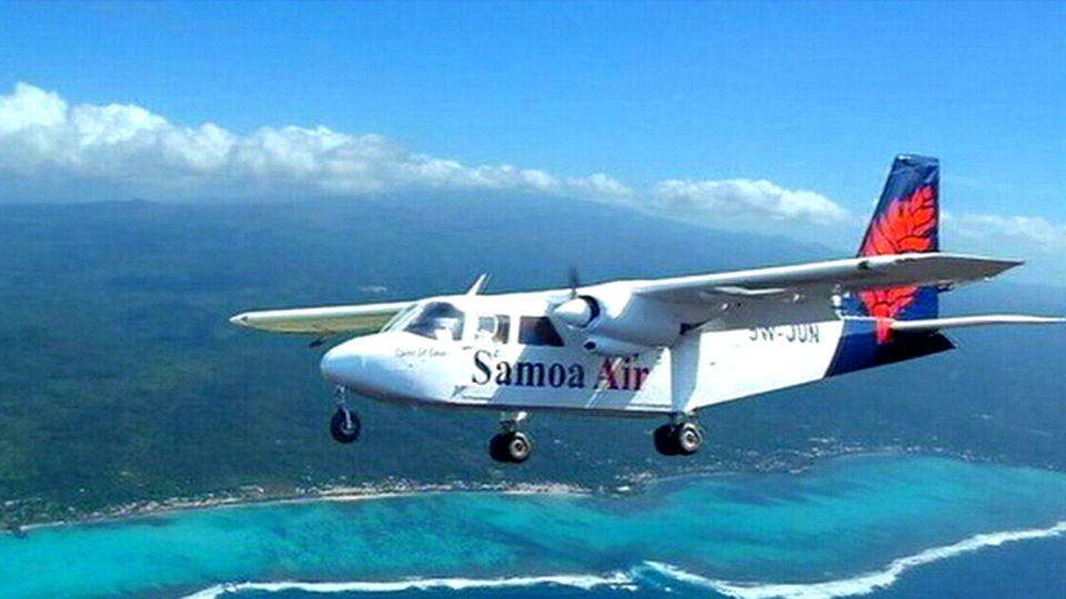 Samoa Air planned on Wednesday to start pricing its first international flights based on the weight of its passengers and their bags.