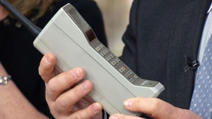Cell phone turns 40