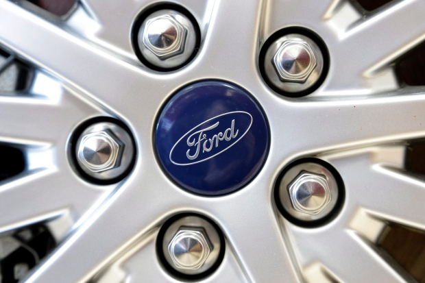 Ford auto sales higher