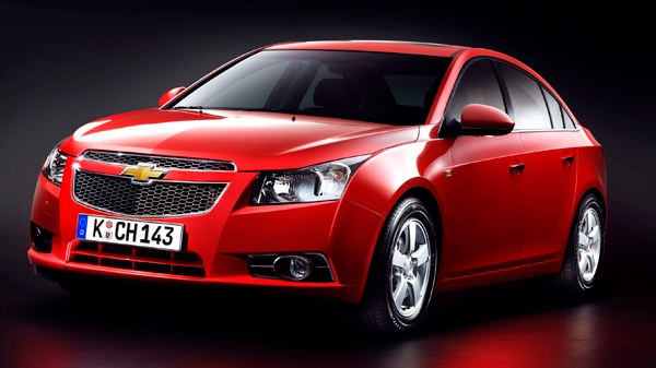 In a photo provided by General Motors, a 2011 Chevrolet Cruze is shown.