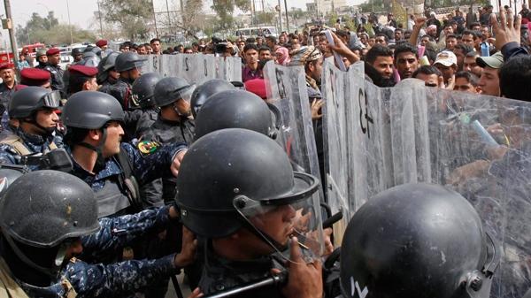 Kurdish guards fire on protest in Iraq, killing 2   CTV News