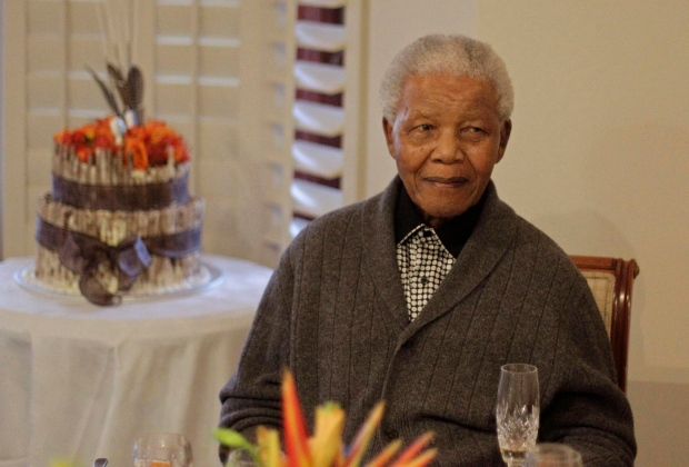 Nelson Mandela is improving