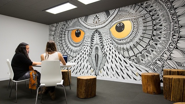 Office Nesting Inside The New Vancouver Hootsuite Digs
