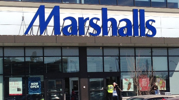 A new Marshalls store in Winnipeg located in the Polo Park area appears in this file photo.