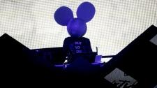 Deadmau5 performs at the MTV Video Music Awards on Sunday, Sept. 12, 2010. (AP / Matt Sayles)