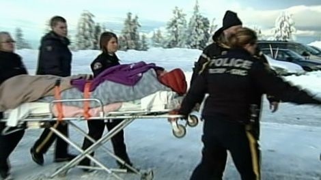 Scout leader George Clark was driving to North Vancouver when he stopped to help a disoriented and distressed 21-year-old hiker.  Feb. 18, 2011. (CTV)