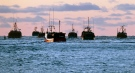 Fishing boats are shown off the coast of Nova Scotia from in this 2012 file photo. (Andrew Vaughan / THE CANADIAN PRESS)
