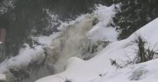 Val-Jalbert waterfall