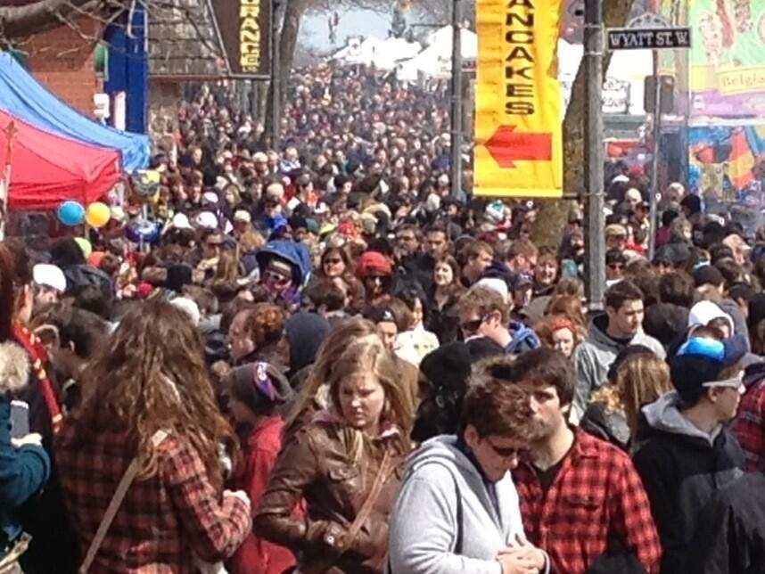 Maple Syrup Festival goes on without sap in too-warm
