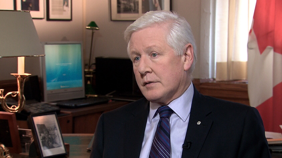 Interim Liberal Leader Bob Rae appears on CTV's Question Period, Sunday, April 7, 2013.