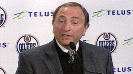 NHL Commissioner Gary Bettman addresses the media on Saturday February 19th.