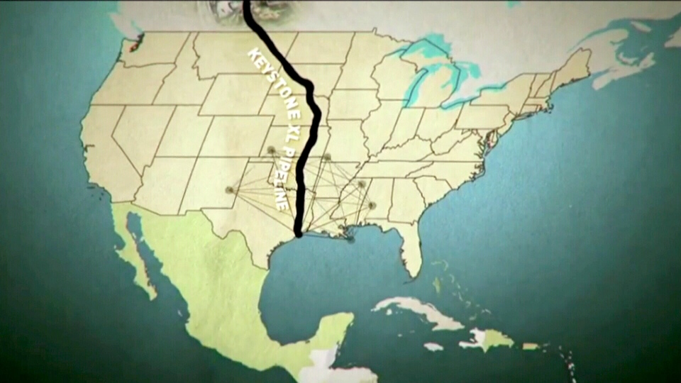 A new series of commercials produced by critics of the Keystone pipeline hit American airwaves Sunday, April 7, 2013.