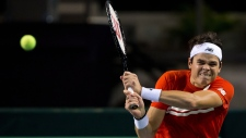 Canada in semi-finals after Raonic's victory