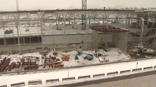 Airport tunnel construction