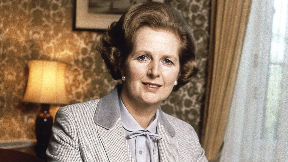 Margaret Thatcher, the first female prime minister of Britain and a giant of 20th century conservatism, is dead at the age of 87. (AP Photo)