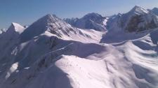 Mount Gerald, just west of Golden, B.C. on Sunday, Feb. 20, 2011.